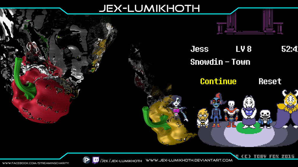 Charity Stream event by Jex-LumiKhoth