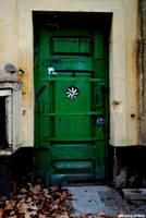The green door. by EricLoConte