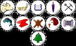 Crafts of Pern - Badges