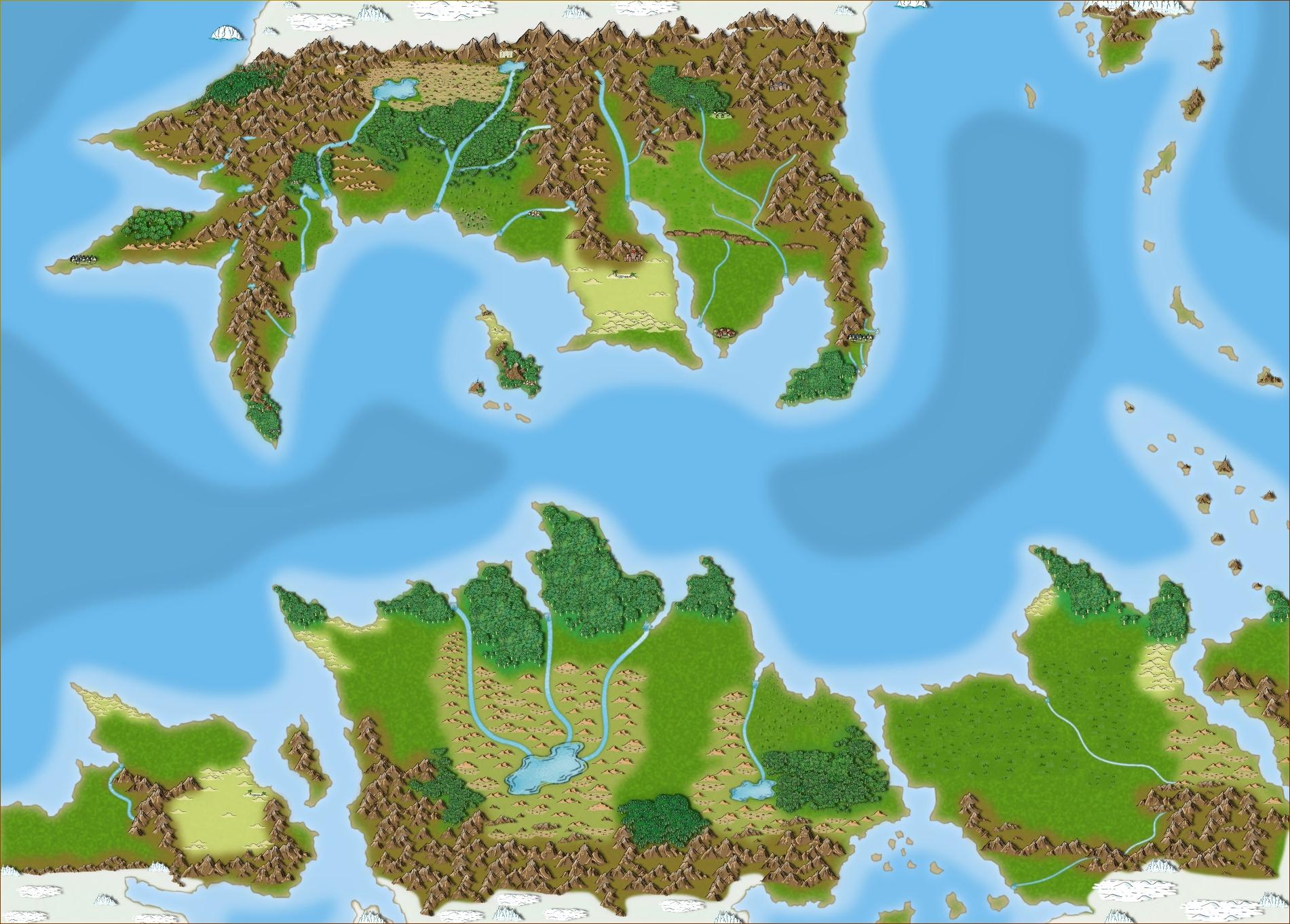 Map of Pern