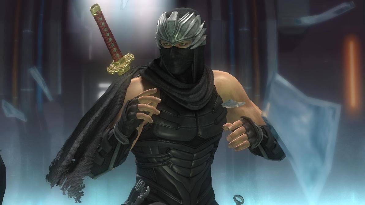 Ryu Hayabusa Shattered Glass Ryu Hayabusa Face