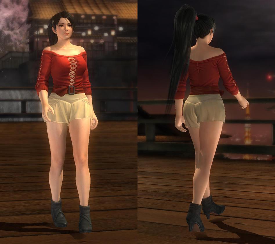 My favorite DOA outfits (Momiji C11) by DoAfanboi