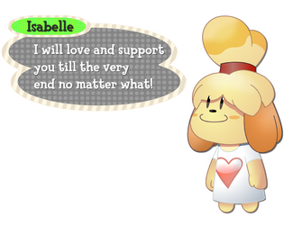 Isabelle got your back by DieChanceBAP