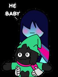 Baby by DieChanceBAP