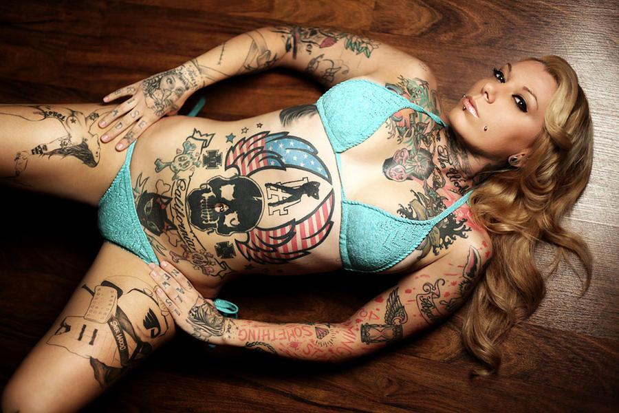reegan blonde tattoo