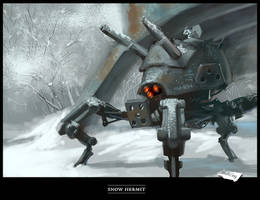 Snow Hermit by syfer707