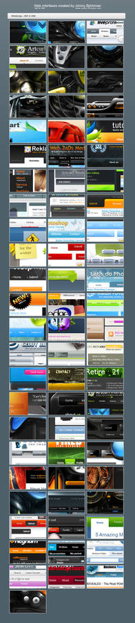 Web interface Collection 07-08