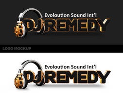 Dj Remedy - Mockup logo by jimmybjorkman