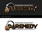 Dj Remedy - Mockup logo