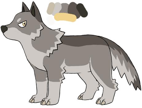 Pokewolf WIP