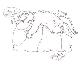 Fat Dragon by Halfshell