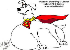 Krypto the Super Dog by Halfshell