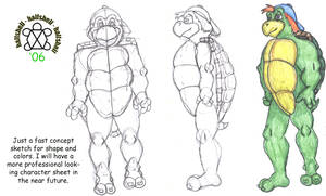 Halfshell Concept Sheet by Halfshell