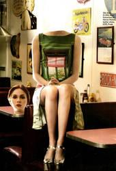 Karen Gillan Headless by csidusquene