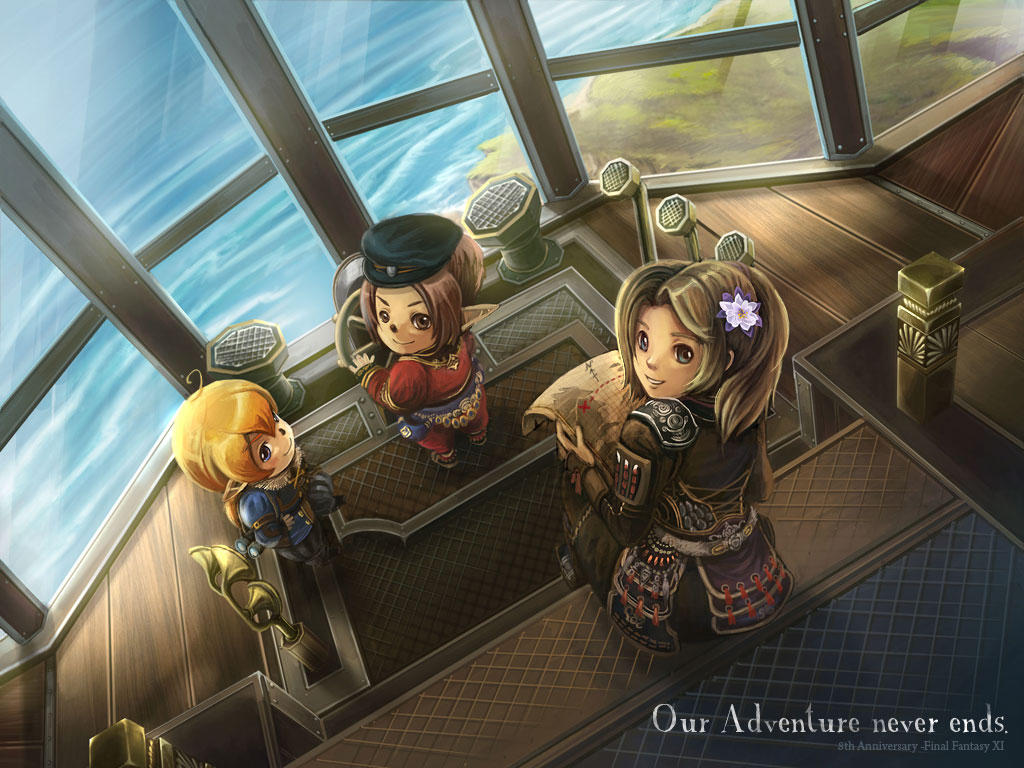FFXI: Our Adventure Never Ends by lurazeda