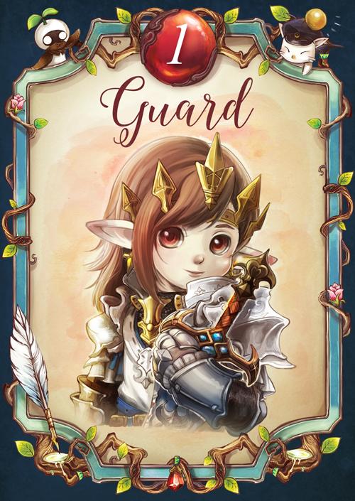 No.1 The Guard by lurazeda