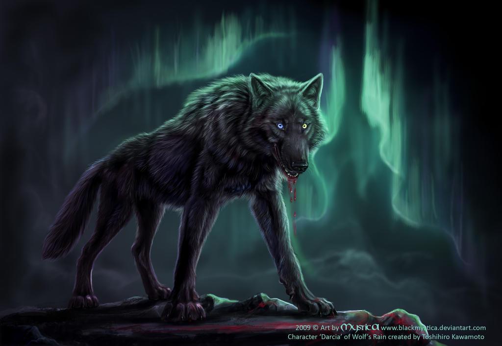 Darcia from Wolf's Rain by BlackMysticA