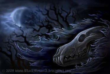 Canis lupus mortis by FelisGlacialis