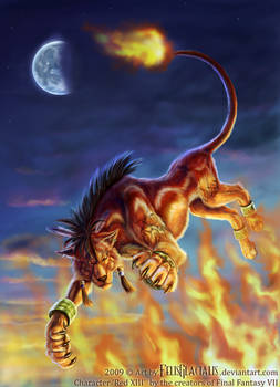 Red XIII from Final Fantasy