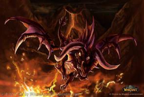 World of Warcraft Onyxia by FelisGlacialis