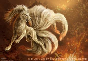 Ninetales by FelisGlacialis