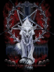 The White Devil - NOT A WOLF *FOR FECKS SAKE* by FelisGlacialis