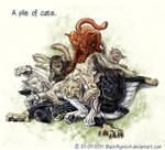 A pile of cats...