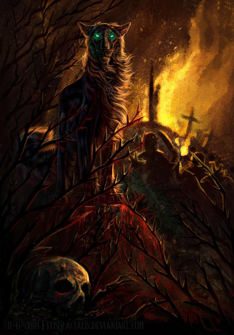 The Dark One by FelisGlacialis