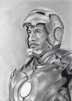 Iron Man - Robert Downey Jr. by Stefans-Artworks