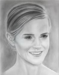 Emma Watson - Hermione from Harry Potter by Stefans-Artworks