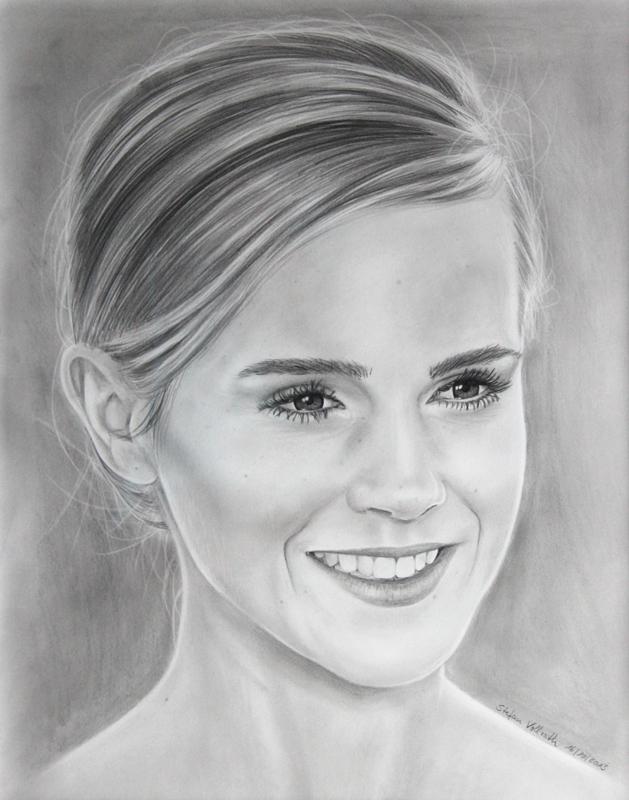 Emma watson hermione from harry potter by stefans artworks