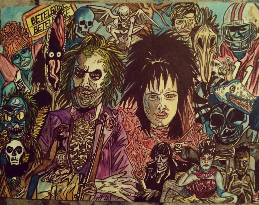 Beetlejuice Characters By Fabledturtle On Deviantart