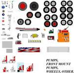 Pumps,front Mount Pumps,wheels,others