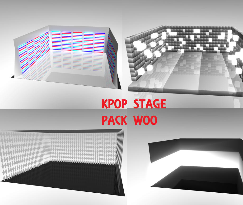 RE UPLOAD: K-Pop Stage Pack DL by Project19Amber