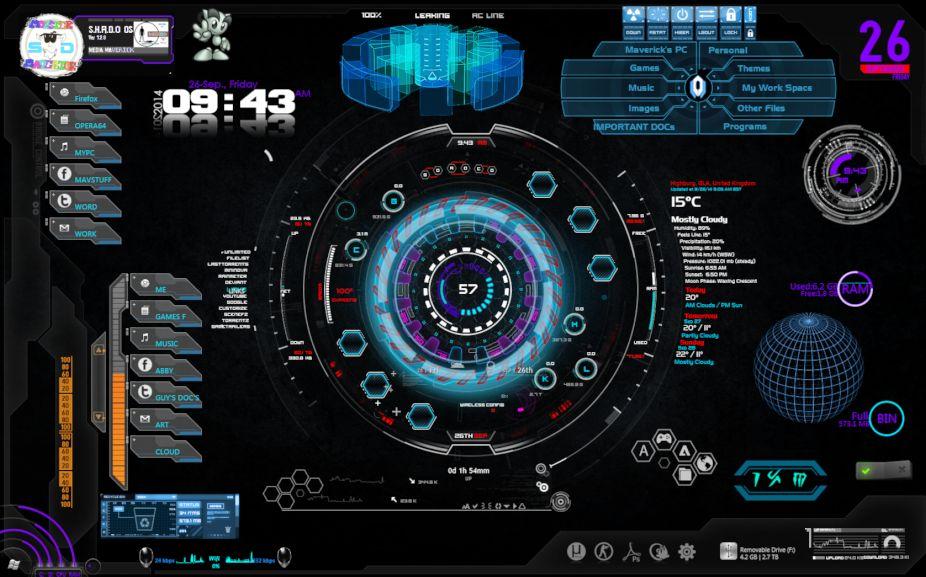 Desktop Image Shado Os Sofar by TALONRIDDER