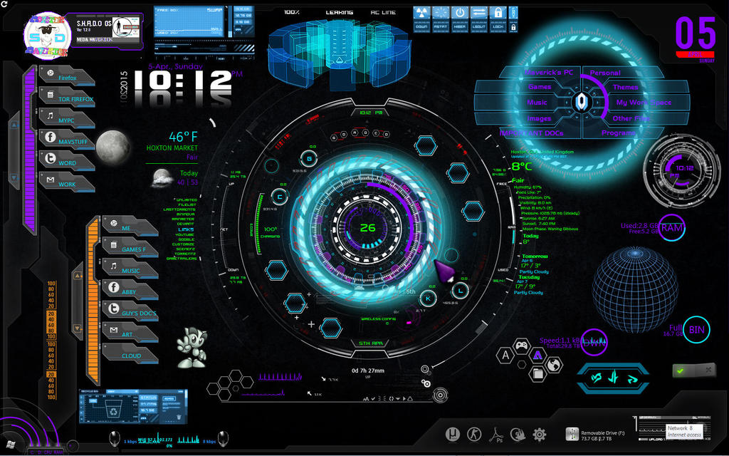 Shado Design Os Screen Shot by TALONRIDDER