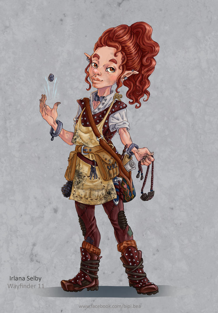 Female Gnome: Irlana Selby By BiPiCado On DeviantArt