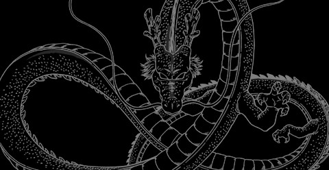 Shenron-Black by MrQuatrario