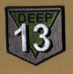 Deep 13 Logo Patch by NeitherSparky
