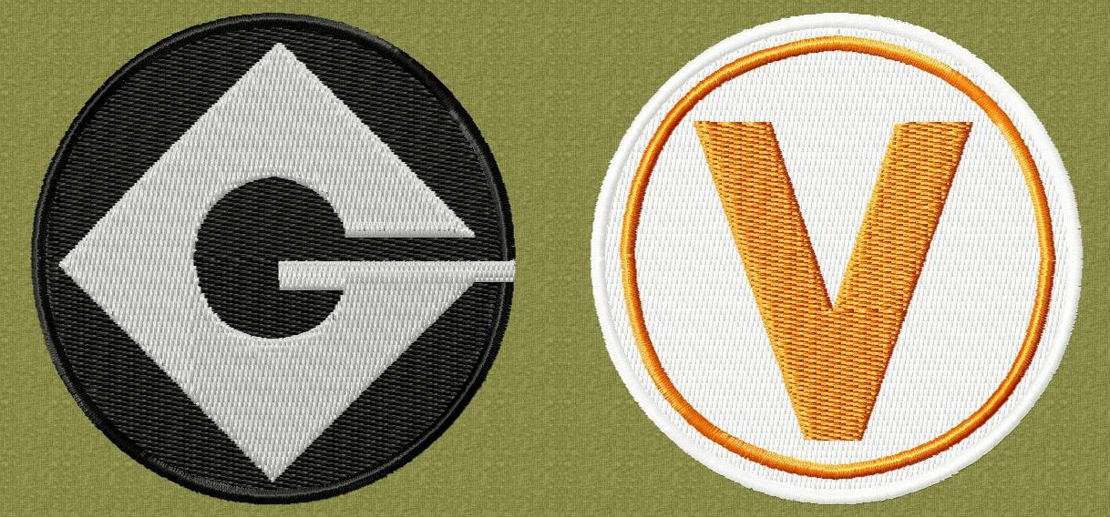 Gru and Vector Badges Preview by NeitherSparky