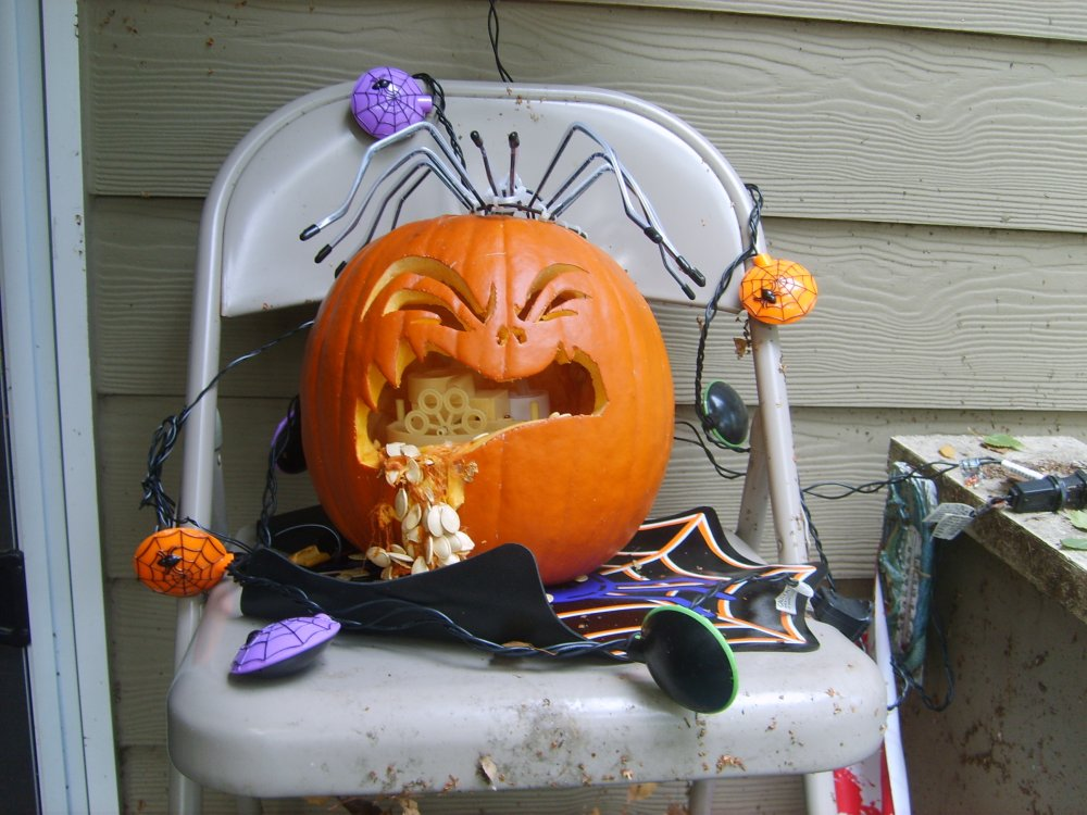 bubble puking pumpkin by neithersparky on deviantart