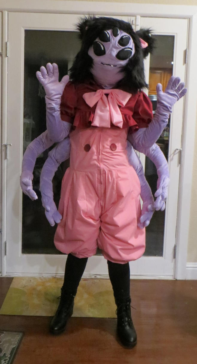 Muffet Cosplay By Neithersparky On Deviantart