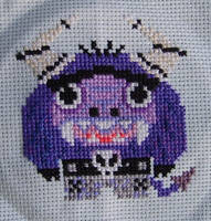 Little Eduardo Cross-Stitch by NeitherSparky