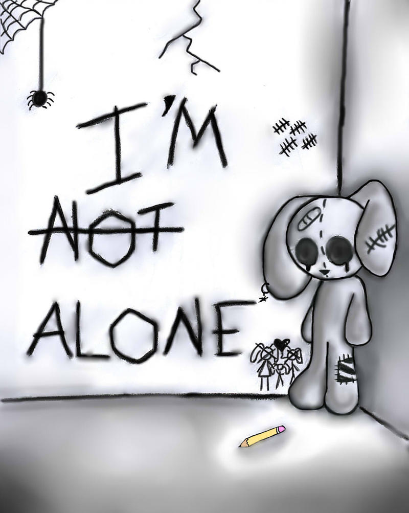 how to draw sad stuff