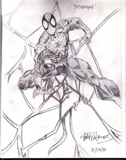 Spiderman by torngemini