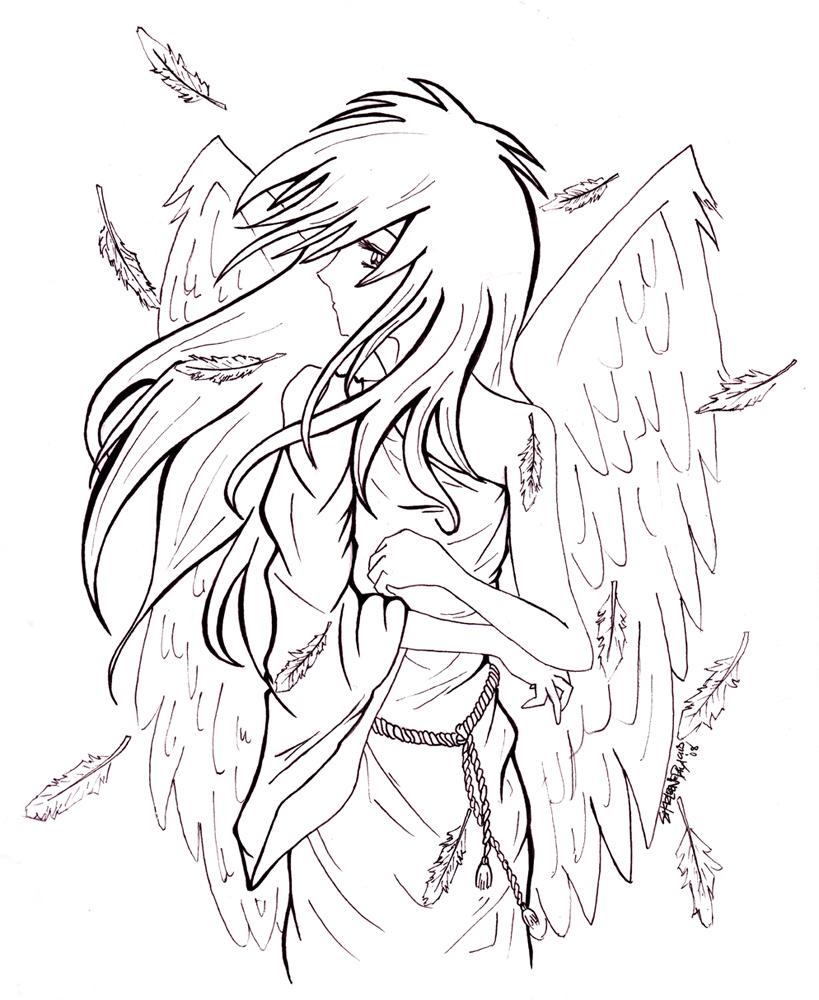 Angel In Despair by torngemini