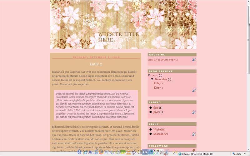 Flower Love - XML Layout by torngemini
