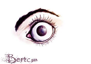 The eye..