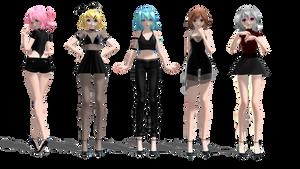 BLA Girls // Special 175Watchers ^0^
