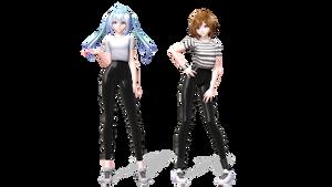 EO Miku and Meiko